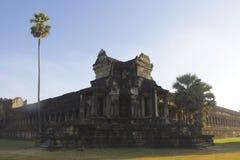 Temple Walls Exterior Angkor Wat Royalty Free Stock Photo