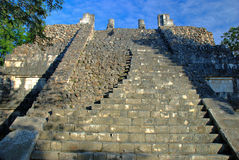 Temple of the Warriors. Chichen Itza, Mexico Stock Image