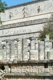 Temple of the Warriors at Chichen Itza, Yucatan, Mexico Stock Photo
