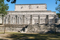 Temple of the Warriors at Chichen Itza, Yucatan, Mexico Royalty Free Stock Image