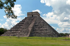 Pyramid of Kukulkan, Chichen Itza Stock Photos