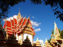 Temple or wat Stock Image