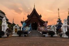 Temple wat ban-den Royalty Free Stock Image