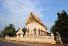 Temple at Wat Ban Wa Stock Photo