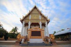 Temple at Wat Buraparam Royalty Free Stock Photo