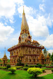 Temple Wat Chalong Royalty Free Stock Image