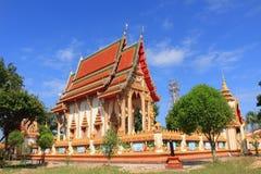 Temple at wat Chang Pi Royalty Free Stock Photo