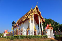 Temple at Wat Chang Thong Royalty Free Stock Photos