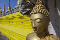 Temple Wat Chumphon Khiri in Mae Sot Stock Photos