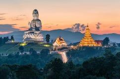 Temple wat hyua pla kang Chinese temple Chiang Rai, Asia Thail Royalty Free Stock Photography