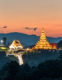 Temple wat hyua pla kang Chinese temple Chiang Rai, Asia Thail Stock Image