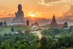 Temple wat hyua pla kang Chinese temple Chiang Rai, Asia Thail Stock Photography