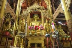 Temple of Wat Inn. Myanmar - Kengtung (Kyaing Tong) Temple of Wat Inn royalty free stock photography