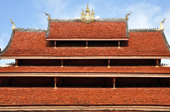 Temple at Wat Mai Royalty Free Stock Images
