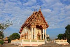 Temple at Wat Nong Sano Stock Image