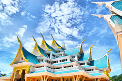Temple. Wat Pa Phu Kon is in Na Yung district of Udon Thani province. It's architecture and beautiful location are very impressive Stock Images