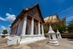 Temple of Wat Palelai, Suaphanburi Stock Photo