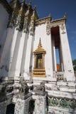Temple at Wat Pho. Temple beautiful at Wat Pho in Bangkok Royalty Free Stock Photos