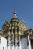 Temple at Wat Pho. Temple beautiful at Wat Pho in Bangkok Royalty Free Stock Photography
