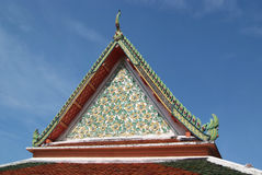 Temple at Wat Pho Stock Photography