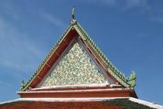 Temple at Wat Pho. Temple beautiful at Wat Pho in Bangkok Stock Photography