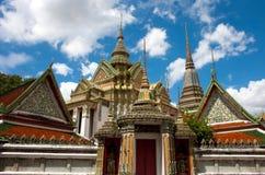 Temple. Wat Pho buddhist temple, Bangkok, Thailand Stock Image