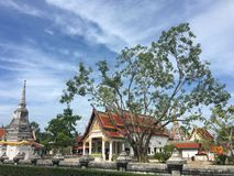 Temple Wat Phra That Chaiya. `Wat Phra That Chaiya` In Suratthani, Thailand Royalty Free Stock Photo