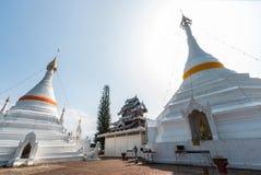Temple Wat Phra That Doi Kong Mu. Mae Hong Son Royalty Free Stock Photo