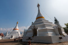 Temple Wat Phra That Doi Kong Mu. Mae Hong Son Royalty Free Stock Images