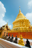 Temple of Wat Phra That Doi Suthep, in Chiang Mai, Thailand Royalty Free Stock Images