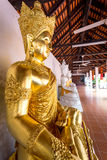 Temple Wat Phra That Haripunchai in Lamphun Stock Photos