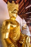 Temple Wat Phra That Haripunchai in Lamphun Stock Photo