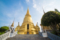 The temple Wat phra kaeo Royalty Free Stock Images