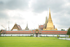 The temple Wat phra kaeo Royalty Free Stock Photography