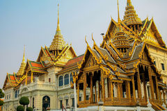Temple Wat Phra Kaew stock images