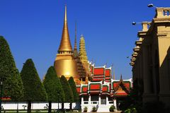 Temple. Wat phra kaw in Thailand Stock Images
