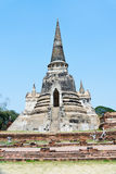 Temple of wat phra sri sanphet in Ayutthaya Royalty Free Stock Images