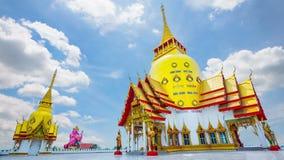 Temple - Wat Phrong Akat stock footage