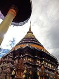 Temple. Wat Prathat Lampang Luang,Lampang,Thailand royalty free stock photo