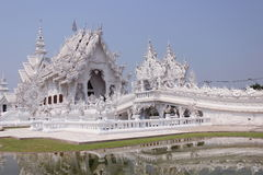 Temple. Wat Rong Khun, Buddhist temple in Chiang Rai Royalty Free Stock Image