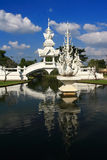 Temple. Wat Rong Khun, Chiang Rai Stock Photography