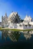 Temple. Wat Rong Khun, Chiang Rai Stock Photo