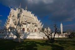 Temple. Wat Rong Khun, Chiang Rai Royalty Free Stock Images