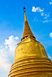 Temple Wat Saket, the golden Stock Photos