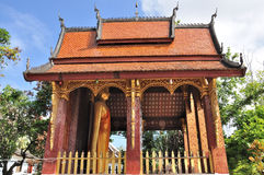 Temple at Wat Sene Royalty Free Stock Images
