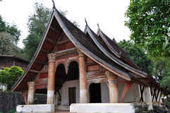 Temple at Wat Siphoutthabat Thippharam Royalty Free Stock Images