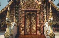 Temple Wat sri don chai pai thailand travel Thai Art. Temple Wat sri don chai pai thailand travel Thai Stock Images