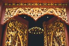 Temple Wat sri don chai pai thailand travel Thai Art. Temple Wat sri don chai pai thailand travel Thai Royalty Free Stock Photography