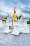 Temple Wat Suan Dok in Chiang Mai; Thailand stock image