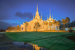 Temple , Wat thai They are public domain or treasure Royalty Free Stock Images
